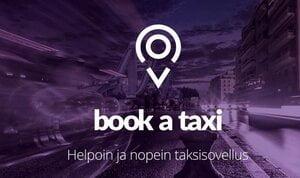 Book a Taxi mainosanimaatio, kansikuva